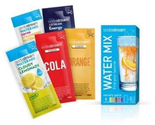 Sodastream Smak assortert 5-pack 40 ml