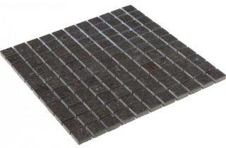 Vence Dark Grey Polished Mosaic 2,5x2,5