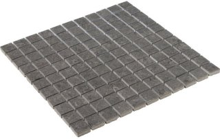 Vence Grey Polished Mosaic 2,5x2,5