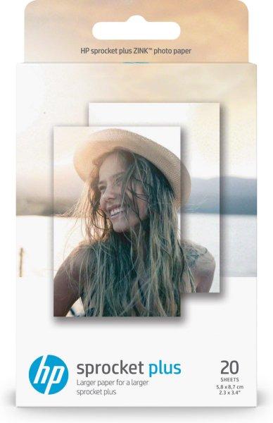 HP Sprocket Plus fotopapir