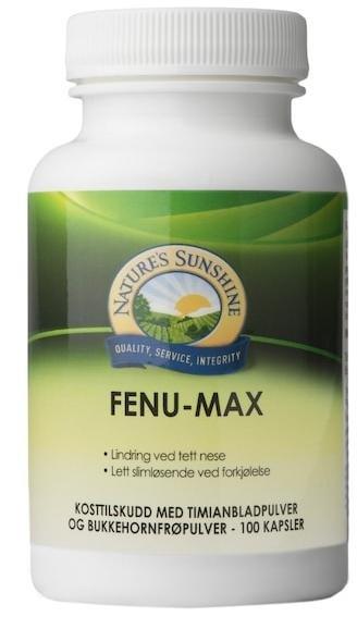 Nature's Sunshine Fenu-max