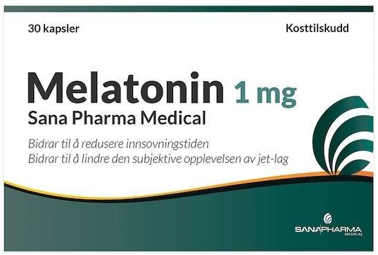 Sana Pharma Melatonin Kapsel 1 mg