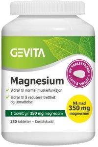 Magnesium 350mg 150 tabletter