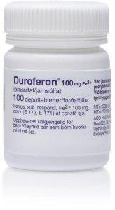 Duretter 100 mg 100 depottabletter