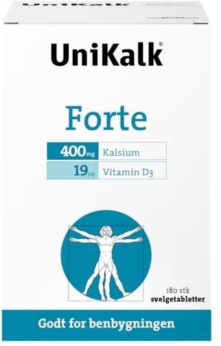 UniKalk Forte 180 tabletter