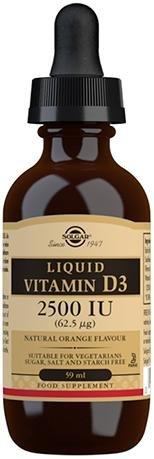 Solgar Liquid Vitamin D3 2500 IU 59ml