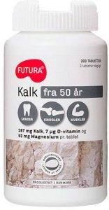 Kalk + D3 + Magnesium 160 tabletter