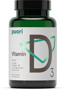 Vitamin D3 Kokosolje 120 kapsler