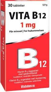 Vitabalans Vita B12 1000 mcg 30 tabletter