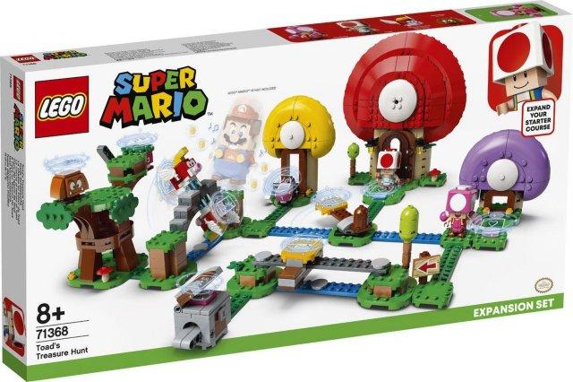 LEGO Super Mario 71368 Ekstrabane - Toads skattejakt