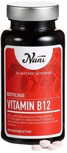 Nani B12 vitamin 500 mcg 90 tabletter