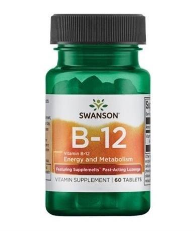Swanson Vitamin B-12 60 tabletter