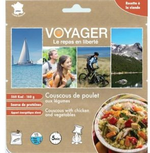 Voyager Couscous med kylling og grønnsaker