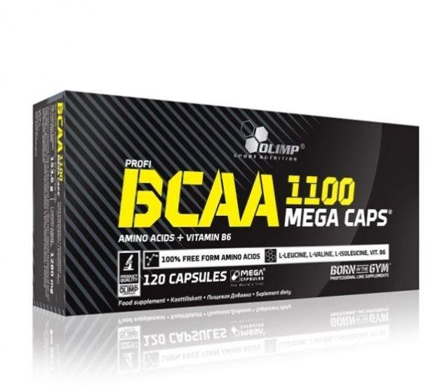 Olimp Sports Nutrition Olimp BCAA 1100 Mega Caps 120stk