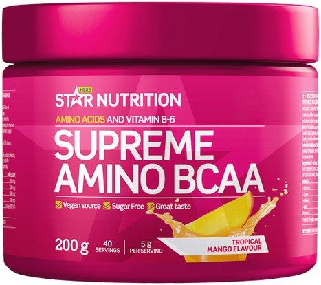 Star Nutrition Supreme Amino BCAA 200g