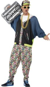 Smiffys Hiphopper Kostyme (Voksen)
