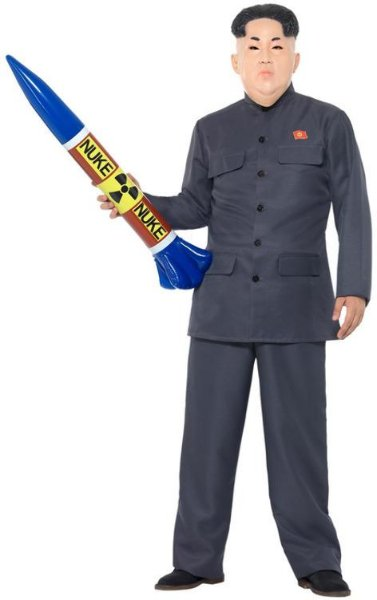 Smiffys Diktator Kostyme (Voksen)