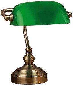 Bankers banklampe 25cm
