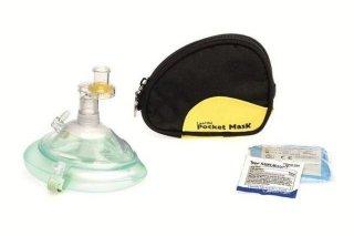 Laerdal Medical Pocket Mask i blå bæreveske