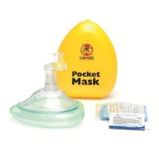 Laerdal Medical Pocket Mask med enveisventil og filter