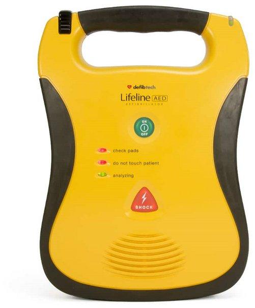 DefibTech Lifeline AED med 5 års batteri