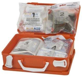 Noraid Liten førstehjelpskoffert med refillsystem