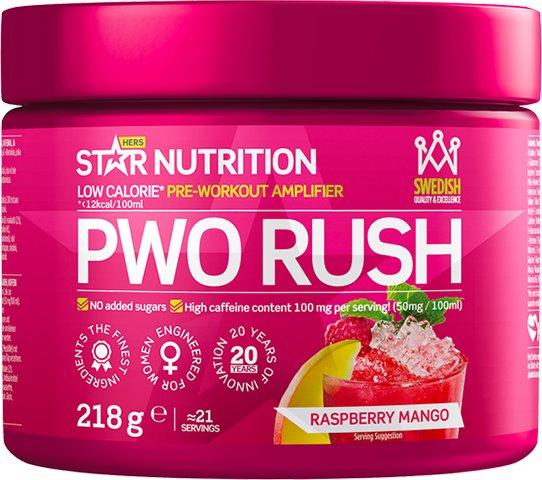 Star Nutrition PWO Rush 218g