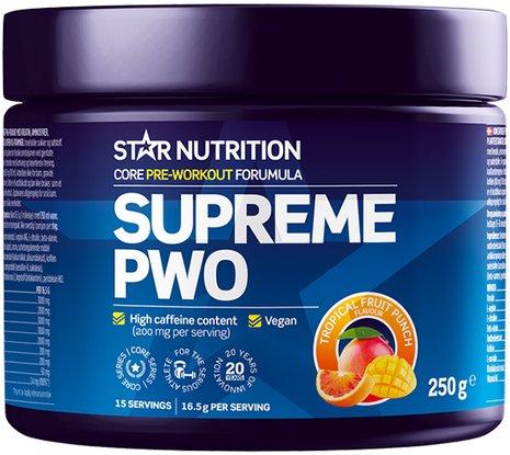 Star Nutrition Supreme PWO 250g