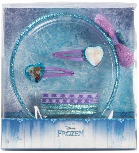 Disney Frozen 5 sett Hårtilbehør