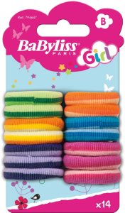 Babyliss Elastics mini 14 stk