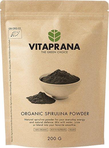 Vitaprana Organic Spirulina Powder 200g
