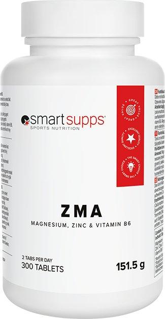 SmartSupps ZMA 300 kapsler