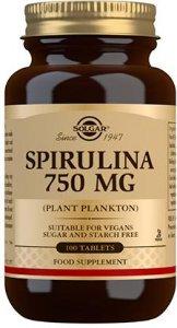 Spirulina 100 tabletter
