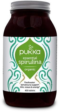 Pukka Spirulina 500 mg 400 tabletter
