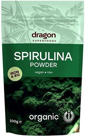 Dragon Superfoods Spirulina pulver økologisk 200g