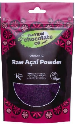 The Raw Chocolate Company Acai Pulver 80g