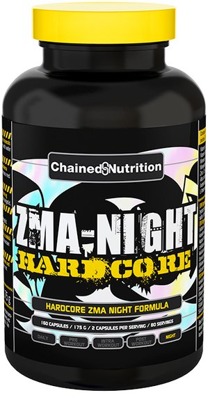 Chained Nutrition ZMA Night 160 kapsler