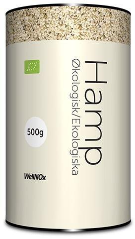 WellNox Hampfrø økologiske 500g