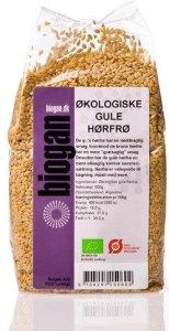Biogan Økologiske Gule Linfrø 500g