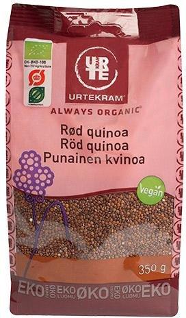 Urtekram Quinoa Rød økologisk 350g