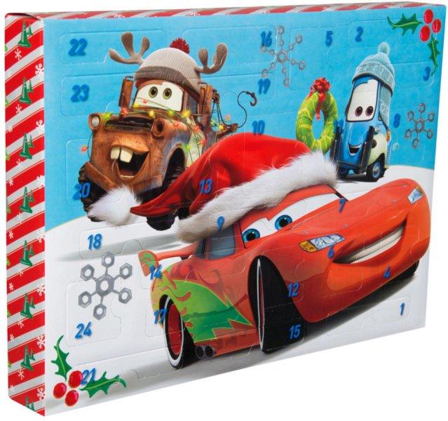 Disney Cars adventskalender med skrivesaker