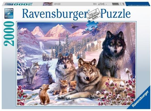 Ravensburger Ulver i snøen