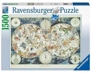Ravensburger World Map of Fantastic Beasts