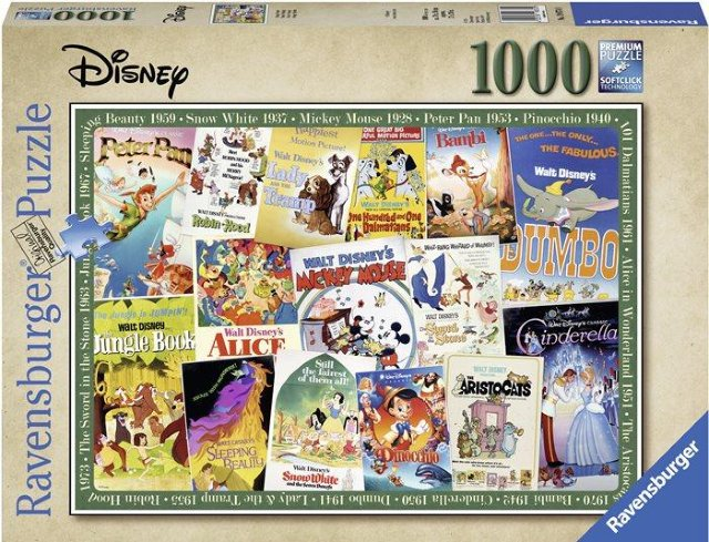 Ravensburger Disney Vintage Movie Posters