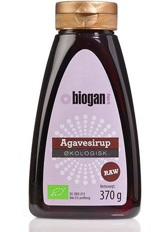 Biogan Økologisk Mørk Agave Sirup 350g