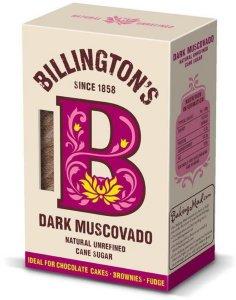 Dark Muscovado uraffinert sukker 500g
