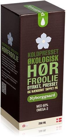 Nyborggaard Linfrøolje kaldpresset 250ml