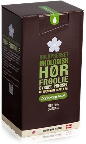 Nyborggaard Linfrøolje kaldpresset 1L