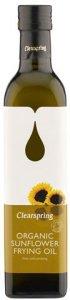 Organic Sunflower Frying Oil 500ml