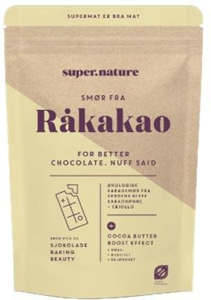 Superfruit Smør fra råkakao 100g